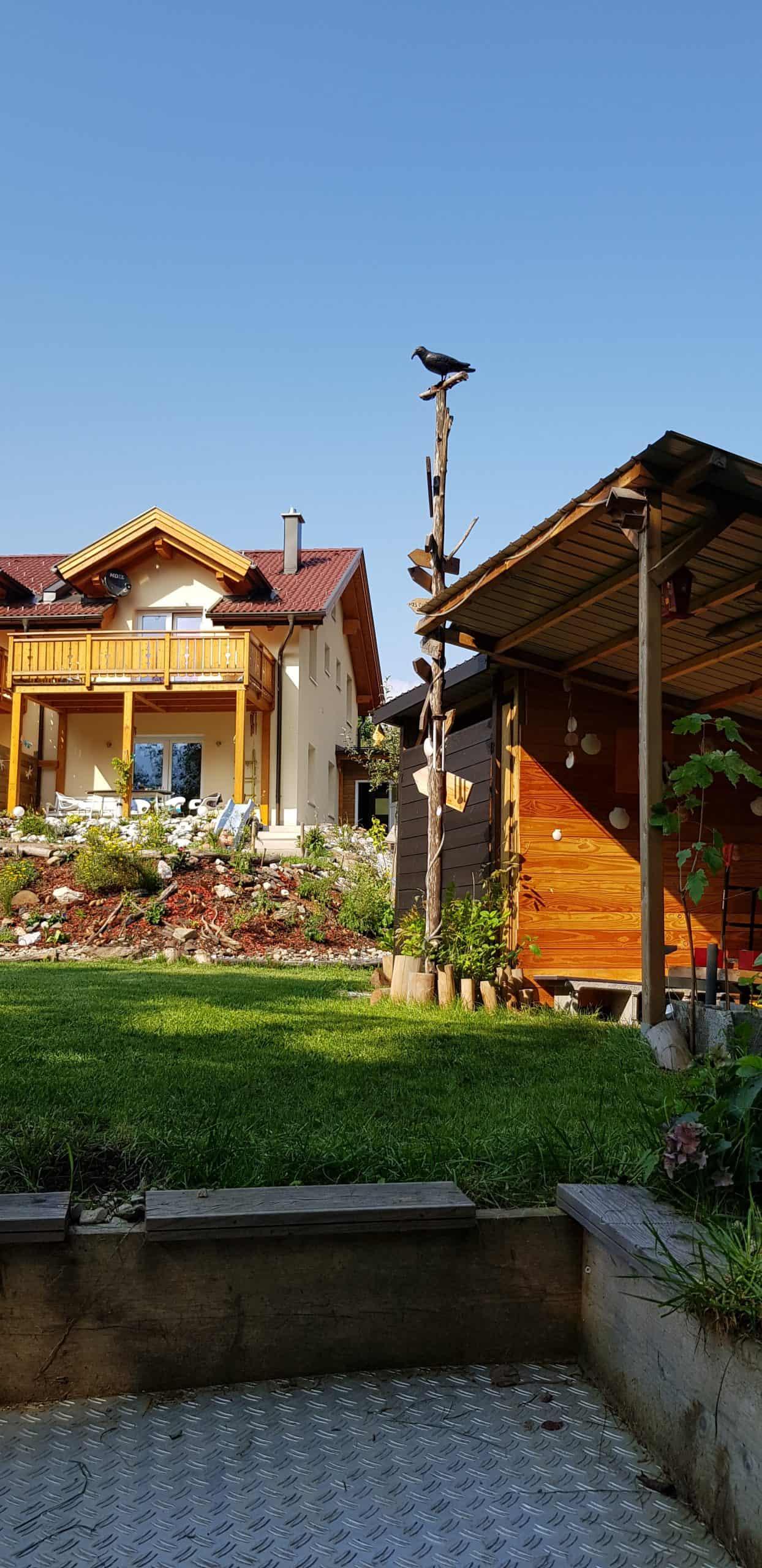 Casa Kümpel achtertuin