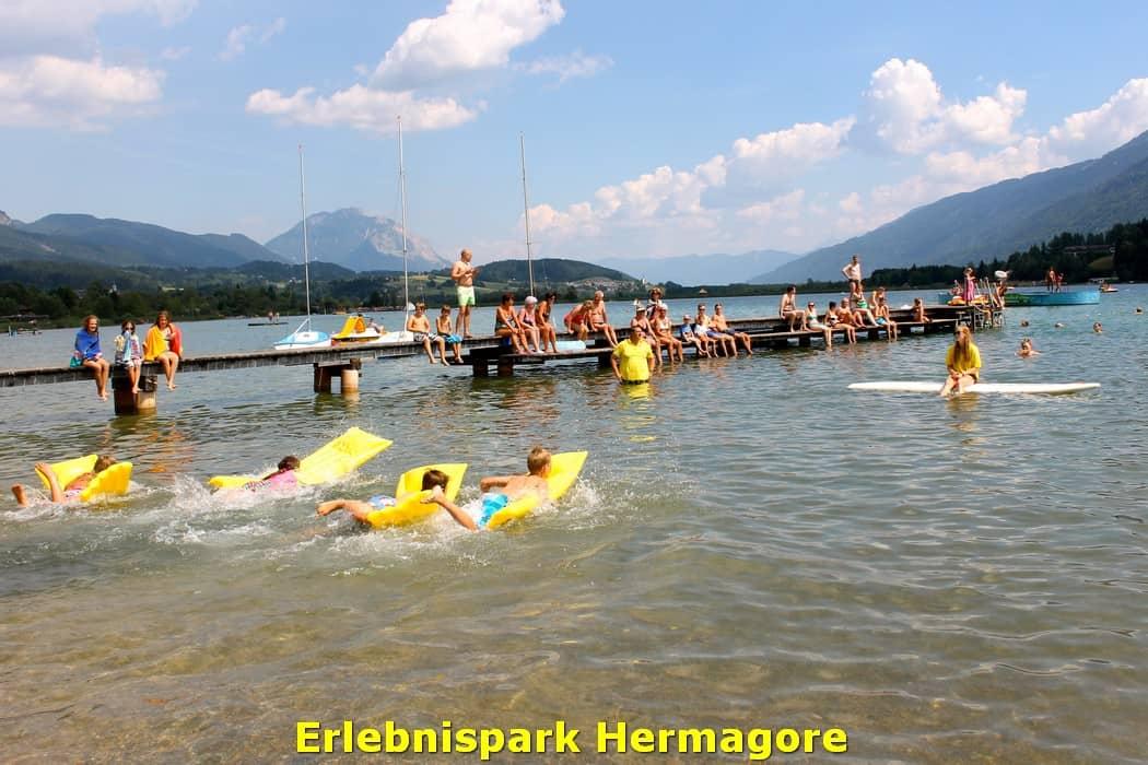 kwo-villa-activiteiten-kinderen-karinthie-oostenrijk-15-zwemmen-strandbad-hermagore