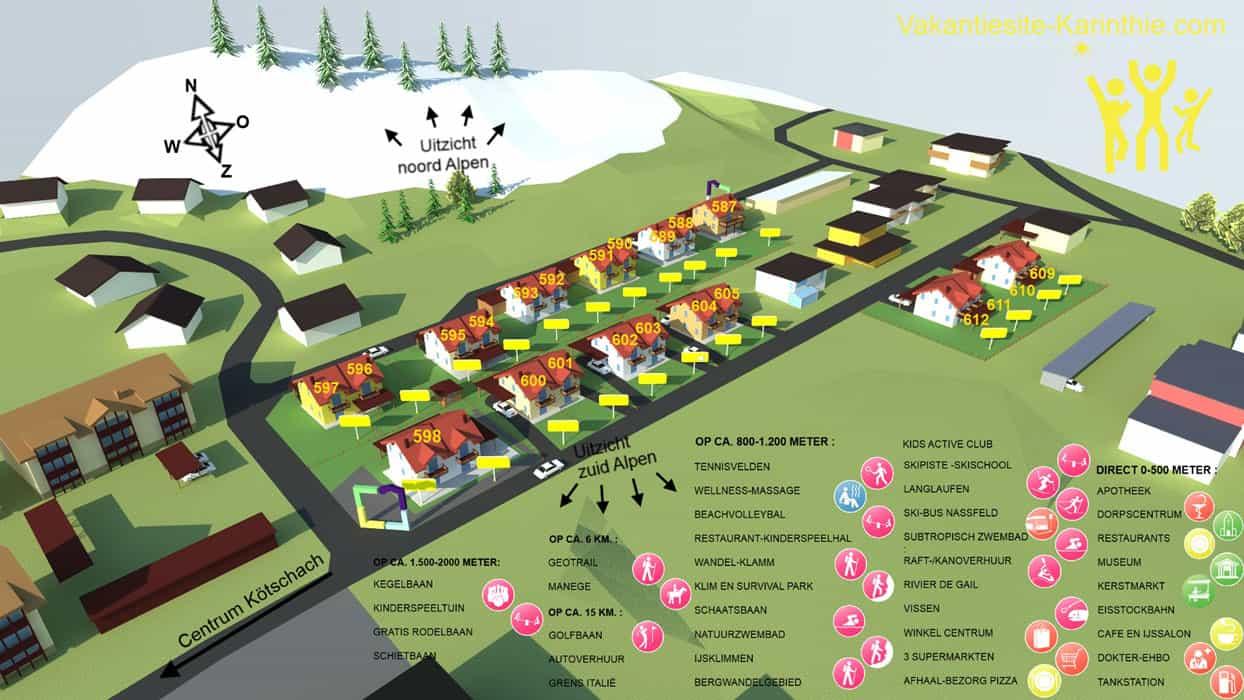 plattegrond-resort-centrum-koetschach