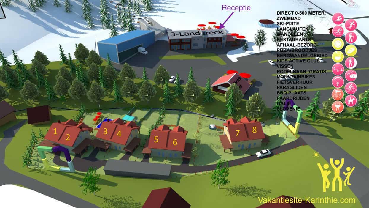 plattegrond-resort-dreilandereck-arnoldstein-2018