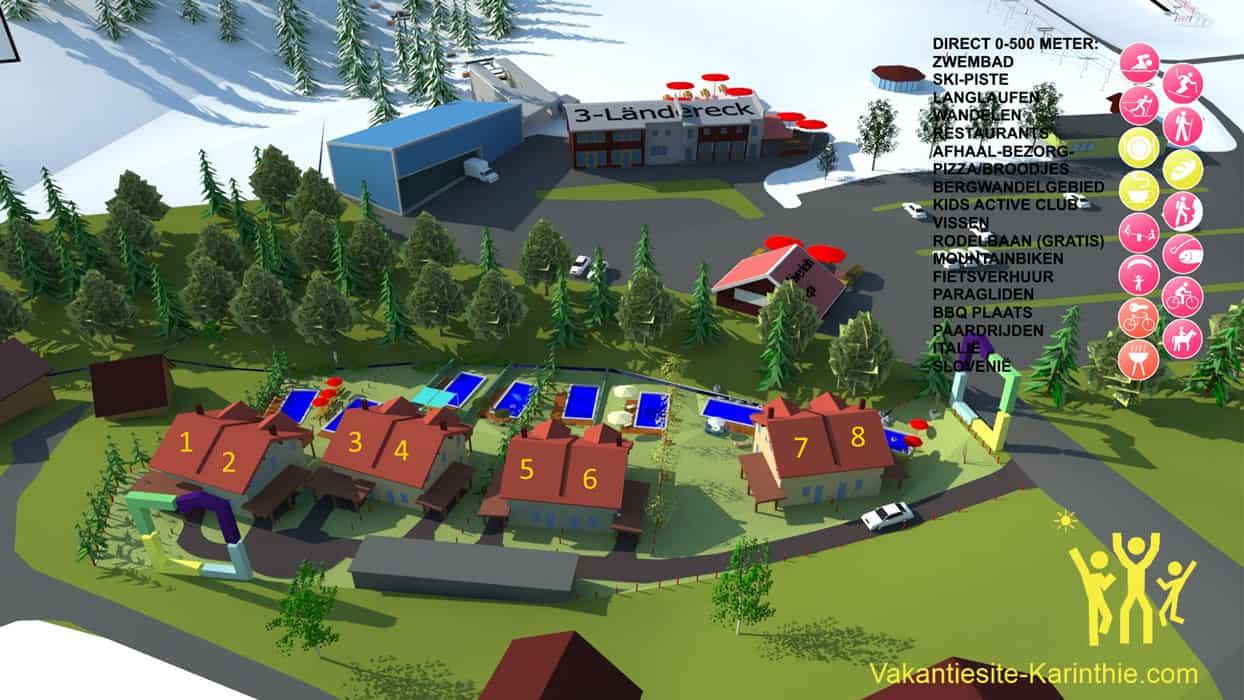 plattegrond-resort-dreilandereck-arnoldstein