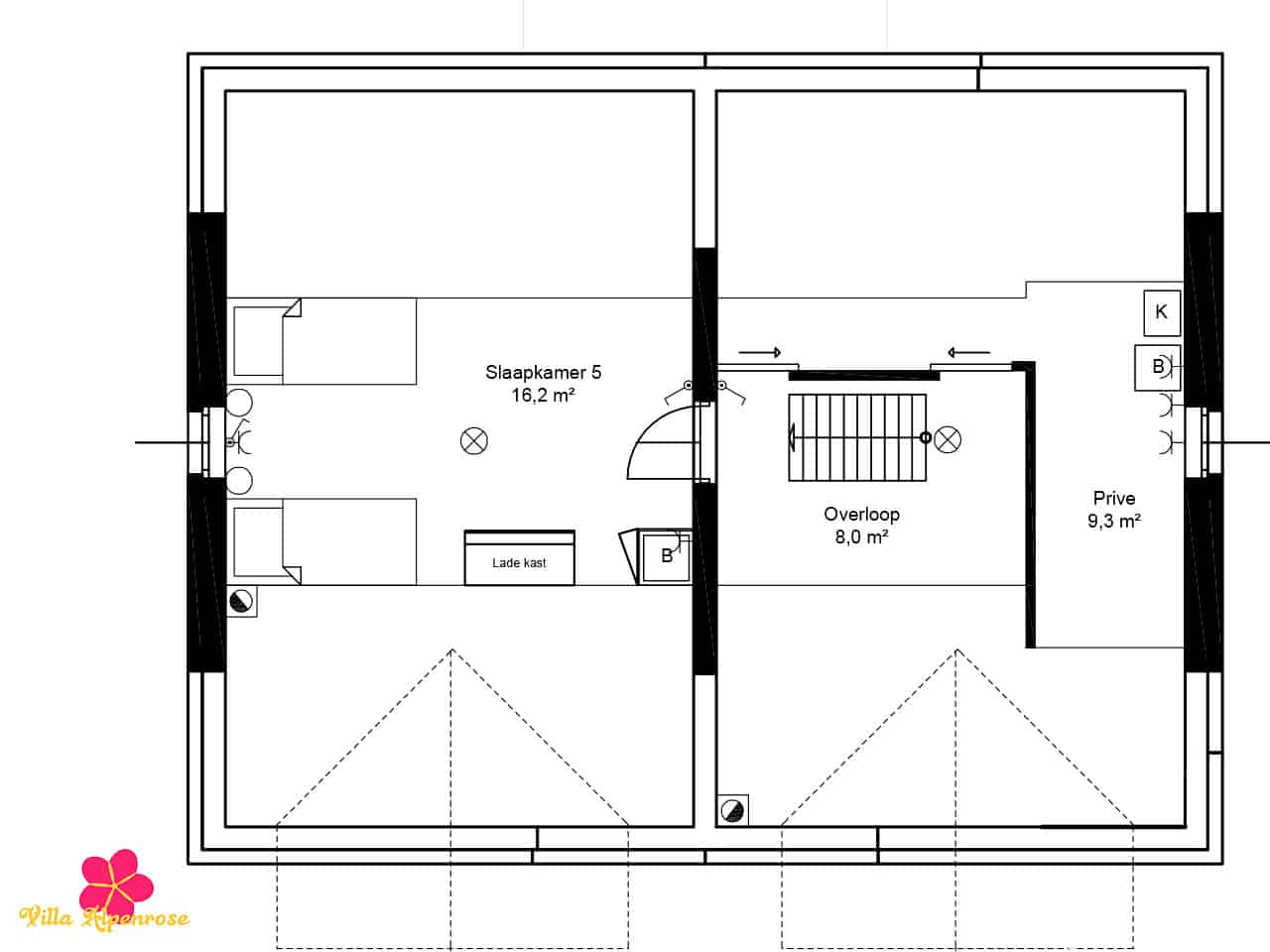 villa-alpenrose-plattegrond-zolder